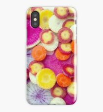 Fresh Sliced Roots iPhone Case