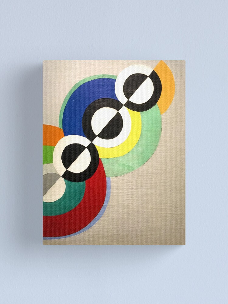Robert Delaunay Saint Severin Canvas Art Print Poster