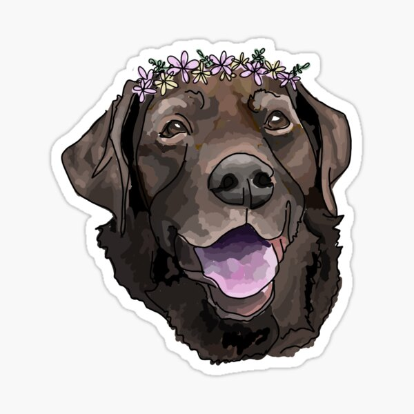 flowers and chocolate Sticker