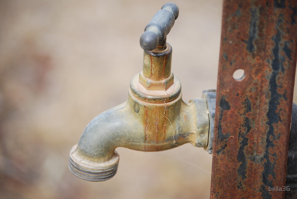 Just a Rusty Tap  by bella36