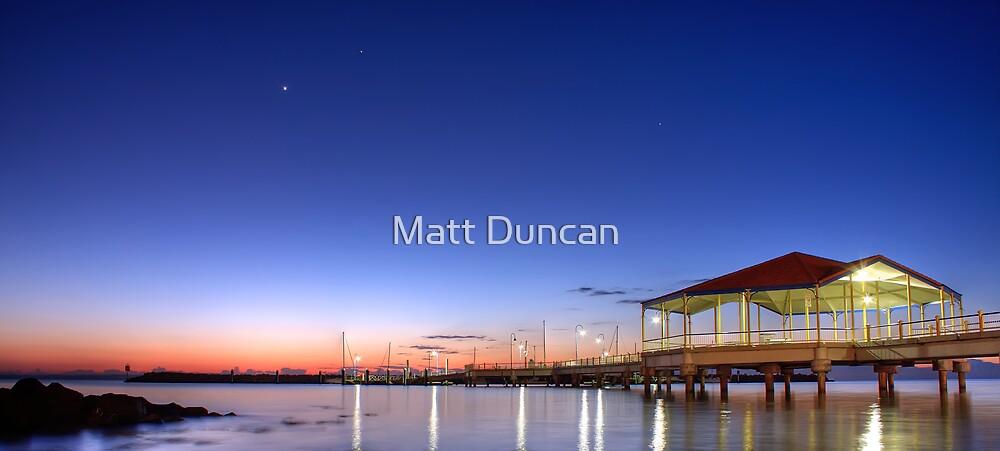 Redcliffe Jetty by Matt Duncan