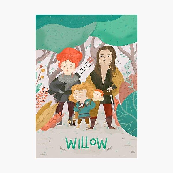 Willow Lámina fotográfica