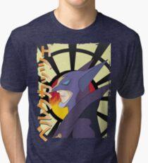 Berg Katse - Galactor - GForce Tri-blend T-Shirt