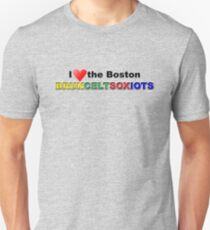 I Love Boston Sports (red heart) T-Shirt
