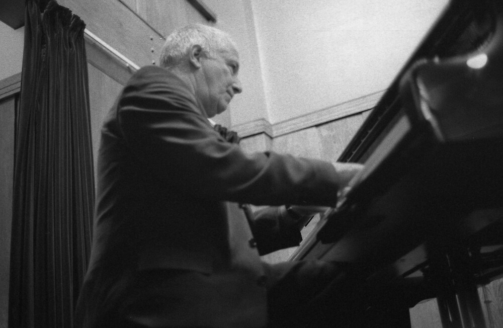 John Tilbury,  AMM,  by Joe Glaysher
