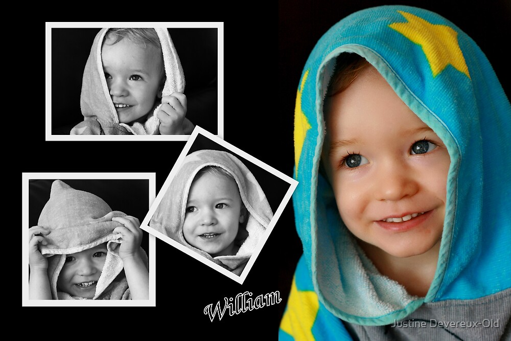 William Collage by Justine Devereux-Old