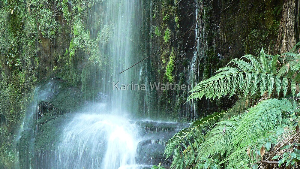 Waterfall by Karina Walther