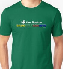 I Love Boston Sports (white shamrock) Unisex T-Shirt