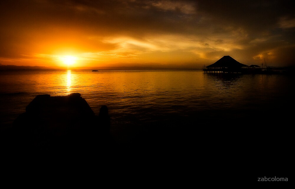 Sunrise at Leyte Park by zabcoloma