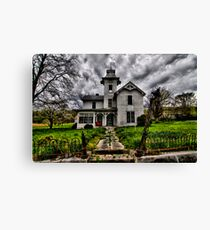 The Devil's Church Canvas Print