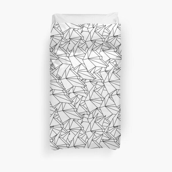 origami dogs Duvet Cover