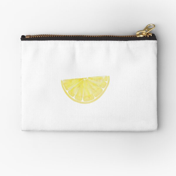Lemon slice Zipper Pouch