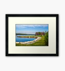 Shelburne Waterfront Framed Print