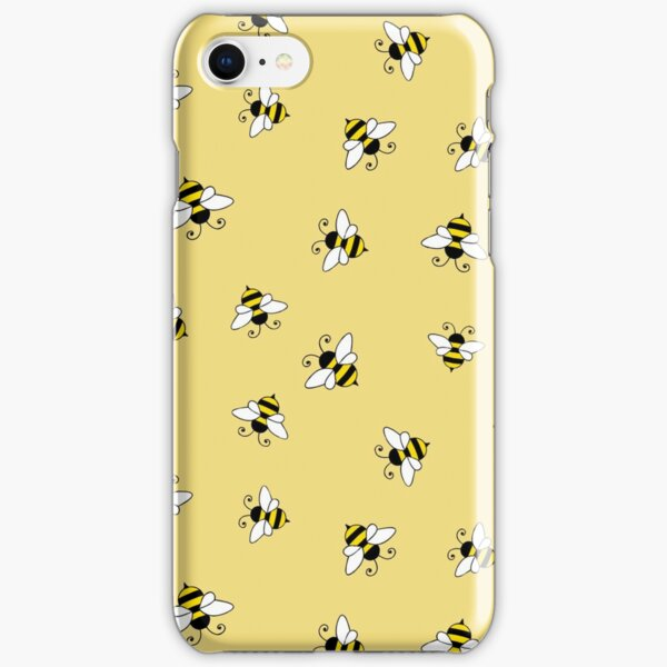 Bee seamless pattern iPhone Snap Case