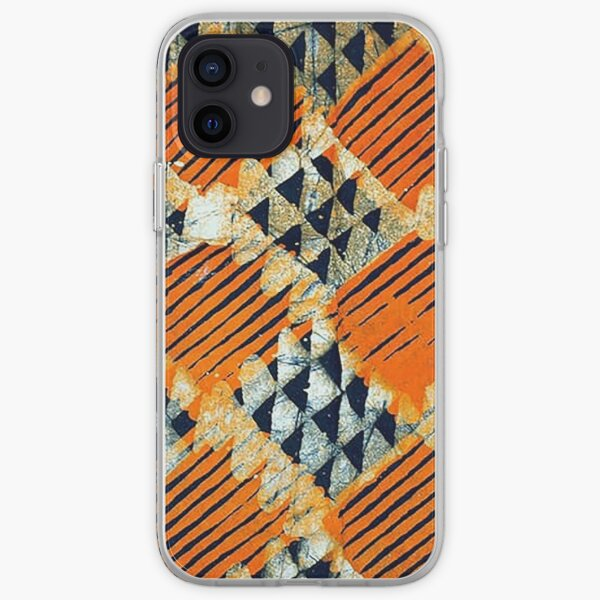 African Print design Edition 15 iPhone Soft Case