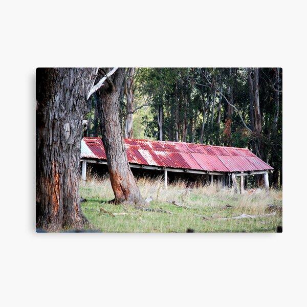 Blue Mountains Barn Canvas Print