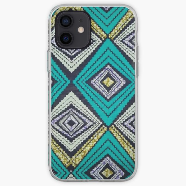 African Print design Edition 18 iPhone Soft Case