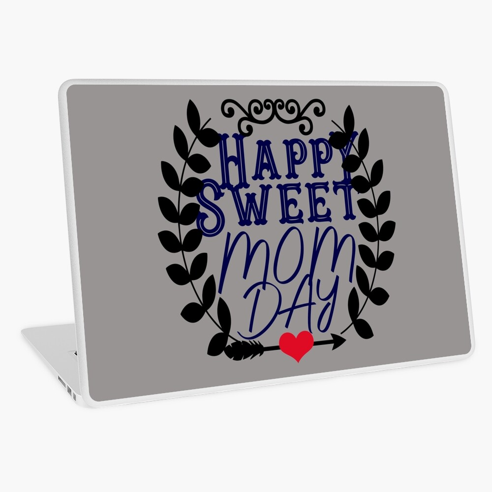 Moms Day Mothers Day Gifts For Her Laptop Skin