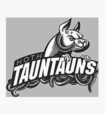 HOTH TAUNTAUNS FOOTBALL TEAM Photographic Print