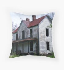 Haunted house?? Throw Pillow