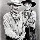Gus and Woodrow by arfineart