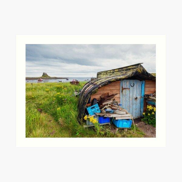 Lindisfarne Timeless view Art Print