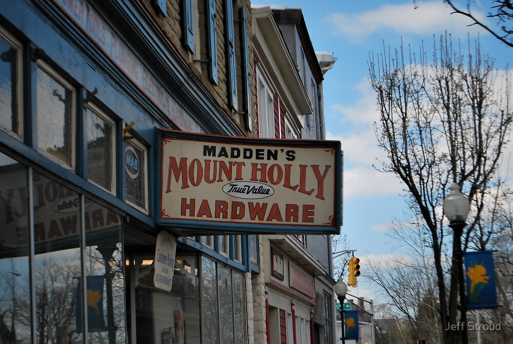 Hardware Sign by Jeff stroud