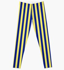 Tailgate - Navy and Gold Stripe Leggings