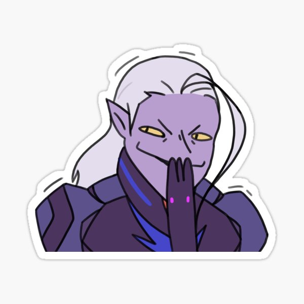 More Sneaky Lotor  Sticker