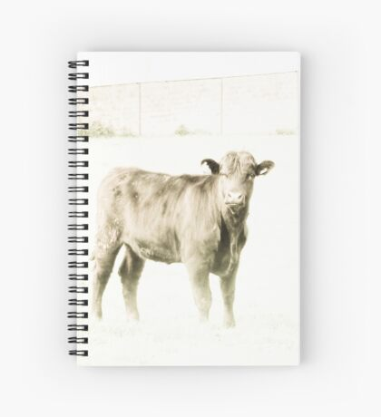 High key heifer Spiral Notebook