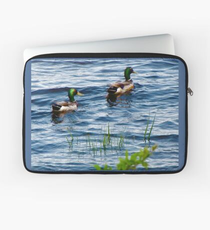 Mallards In the reeds ! Laptop Sleeve