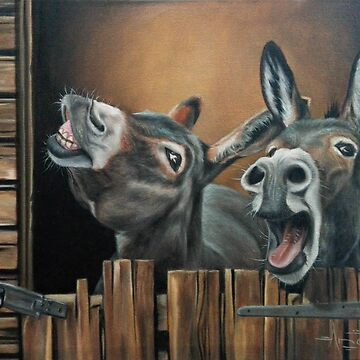 Silly Donkeys by AnetDuToit