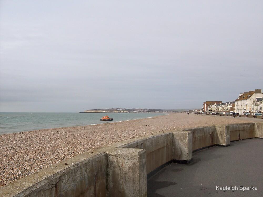 Seaford Beach by Kayleigh Sparks