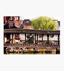 Graceful Chinese Passage Photographic Print