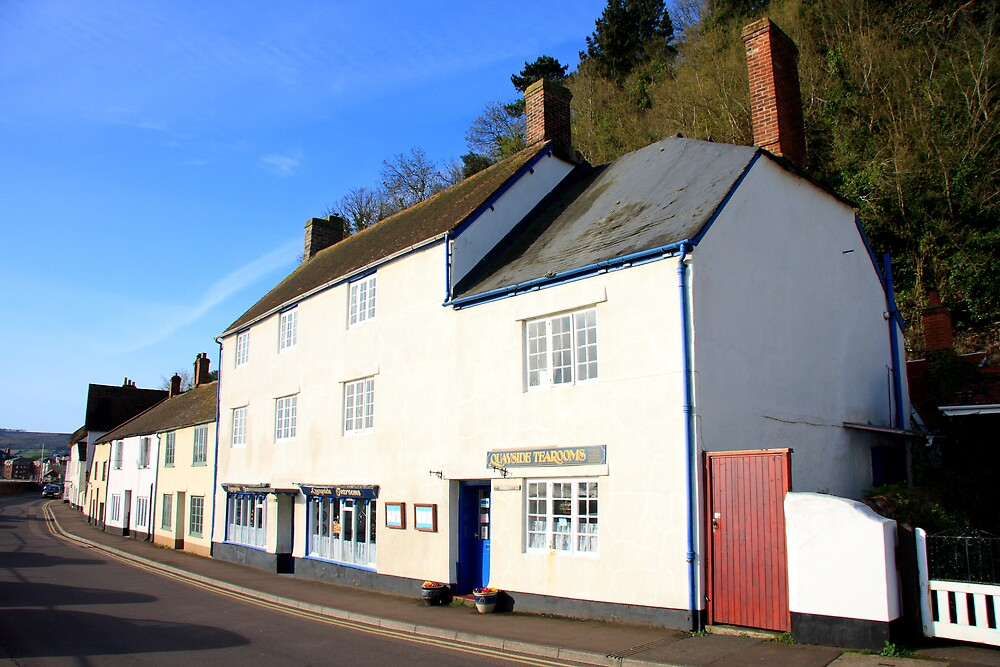 Minehead Cottages II by Dave Law