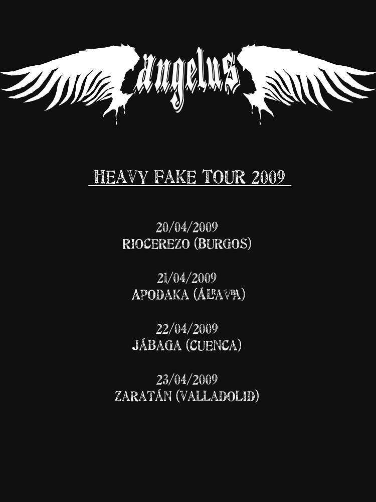 Angelus Heavy Fake Tour 2009 by elzombioriginal