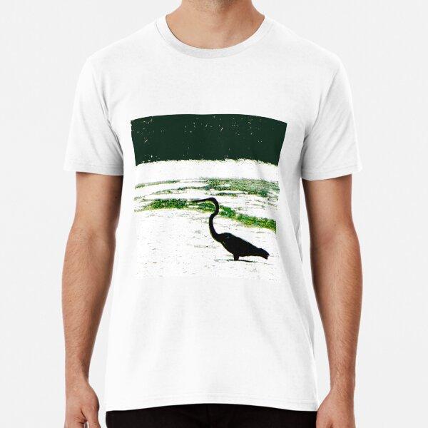 Great Blue Heron Premium T-Shirt