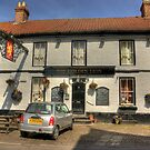 The Golden Lion - Helperby North Yorkshire by Trevor Kersley