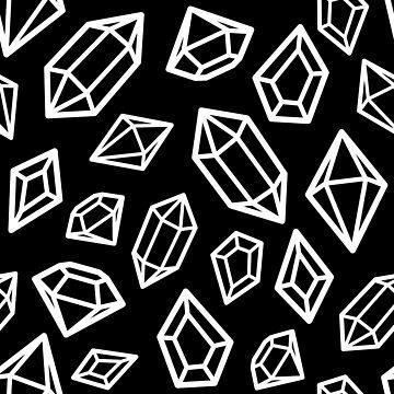 Dark Crystals by Trashprincess