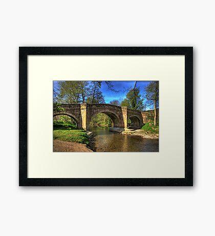The Bridge near Scawton,North Yorkshire Framed Print
