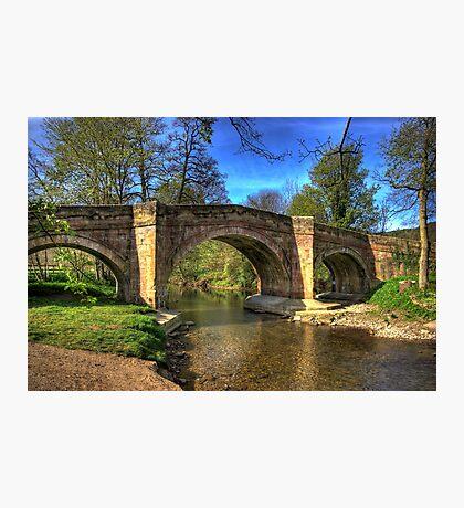 The Bridge near Scawton,North Yorkshire Photographic Print