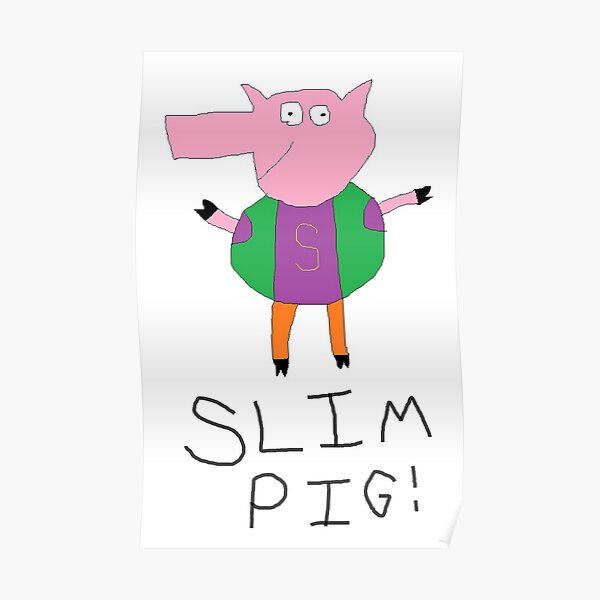 Slim Pig with Title Poster
