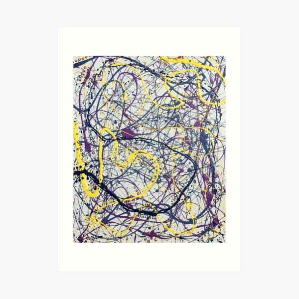Mijumi Pollock 2 Art Print