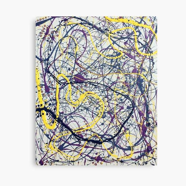 Mijumi Pollock 2 Canvas Print