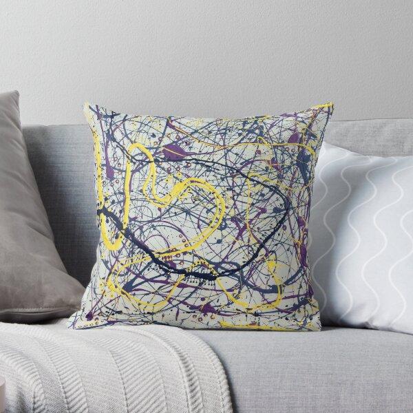 Mijumi Pollock 2 Throw Pillow