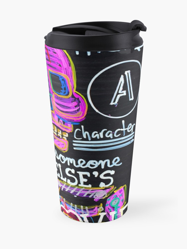 Alternate view of Main Character Travel Mug