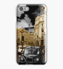 London taxi iPhone Case/Skin