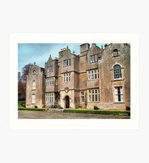 Edmondsham House - Dorset Art Print