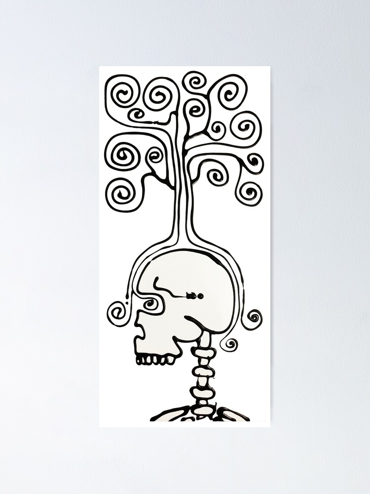 Alternate view of Thinking Tree Poster