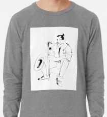 Saxophone Player Musician Lightweight Sweatshirt